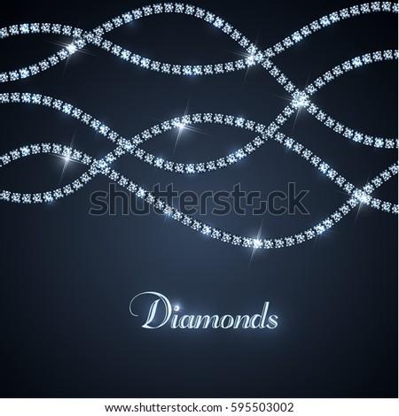diamond sparkling threads