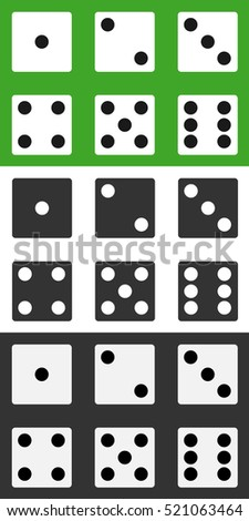 dice  dice icon  set of dice