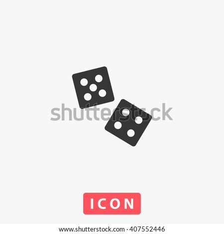 dice icon dice icon vector