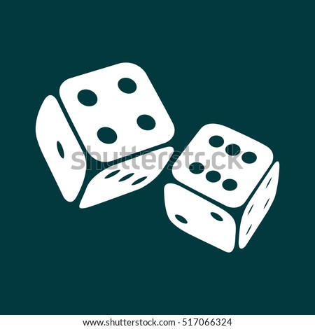 dice icon two game dices