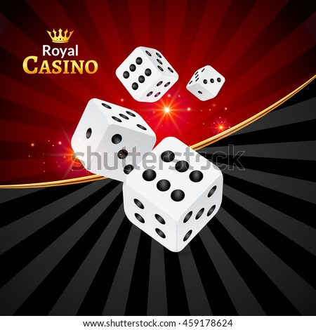 dice vector casino design