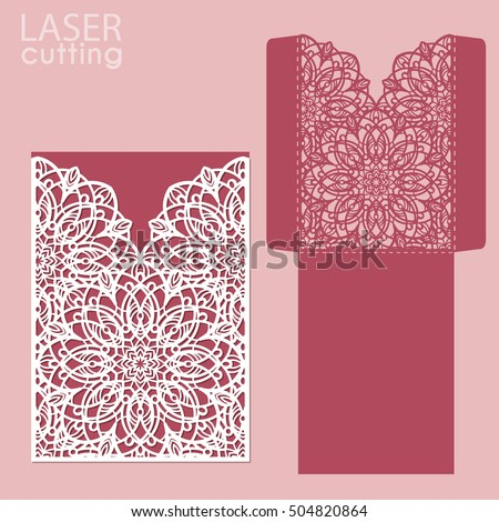 Royalty Free Stock Photos And Images Die Laser Cut Wedding Card