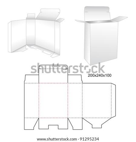 Die stamping box