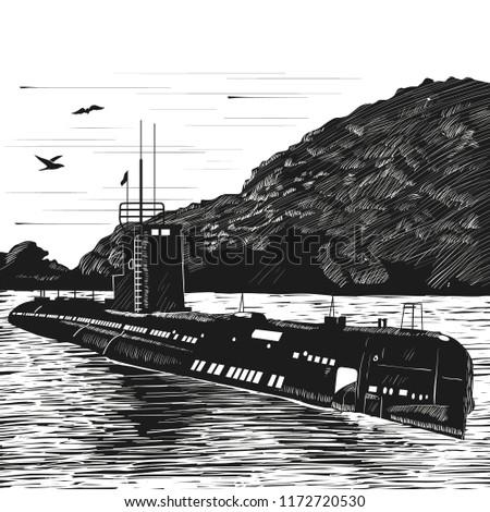 diesel submarine of post war