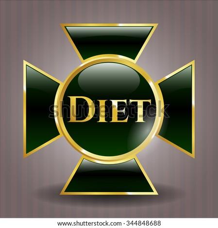 Diet gold badge