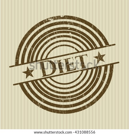 Diet rubber texture
