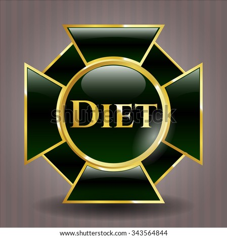 Diet shiny badge