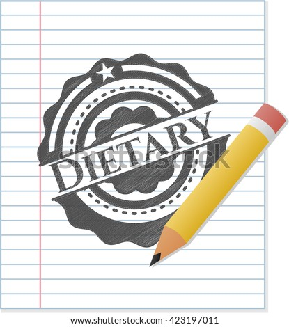 Dietary pencil draw
