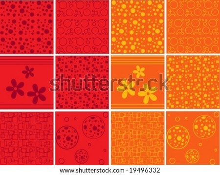 Different background pattern collection