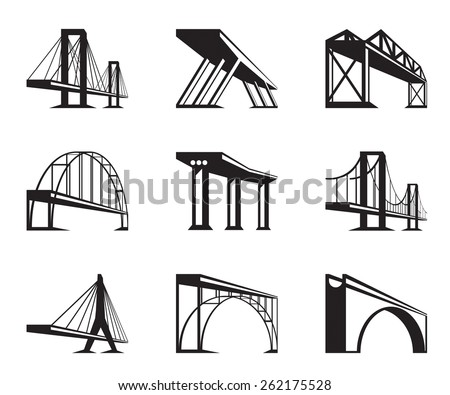 different bridges in