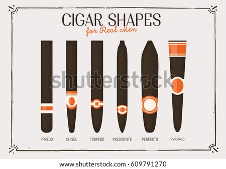 Different cigar shapes