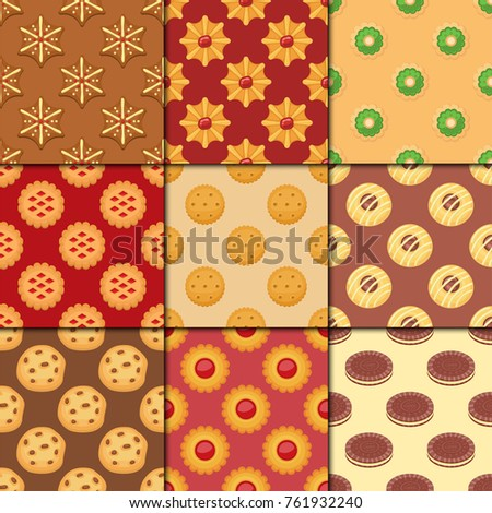 different cookie cakes seamless