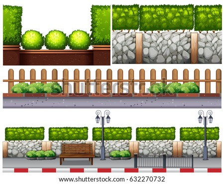 different design for fences
