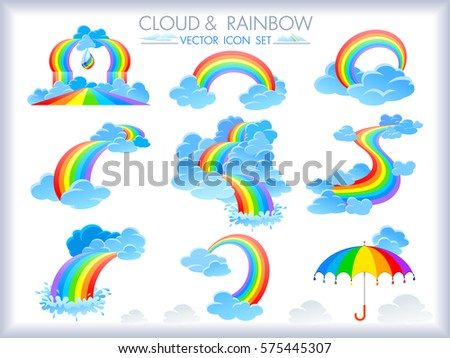 different forms of rainbow