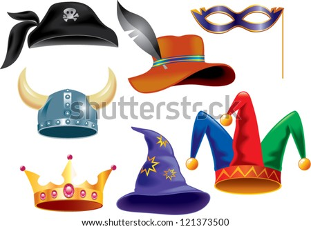 different funny hats for party