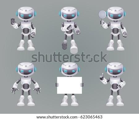 download robots futuristic wallpaper 2560x1600