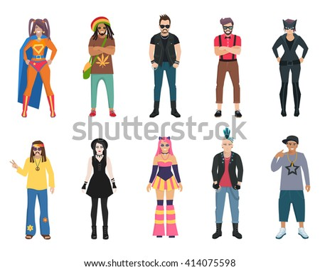 different subcultures trendy