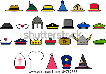 Different Hat Types