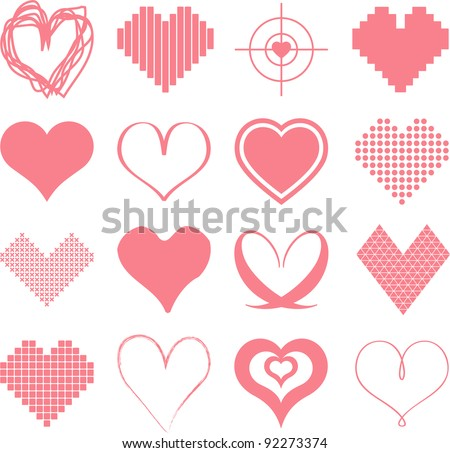 different types of hearts