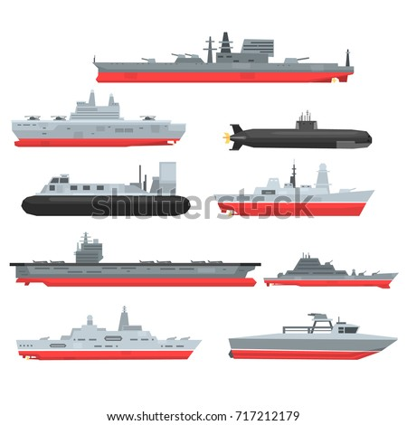 different types of naval combat
