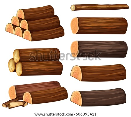 different types of woods