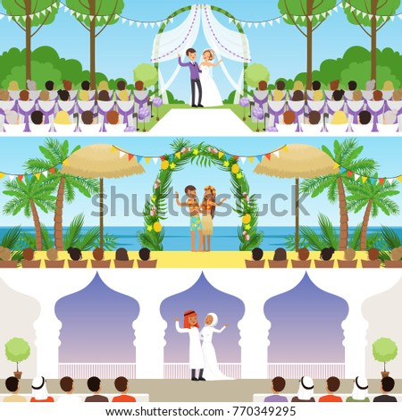 different wedding ceremonies