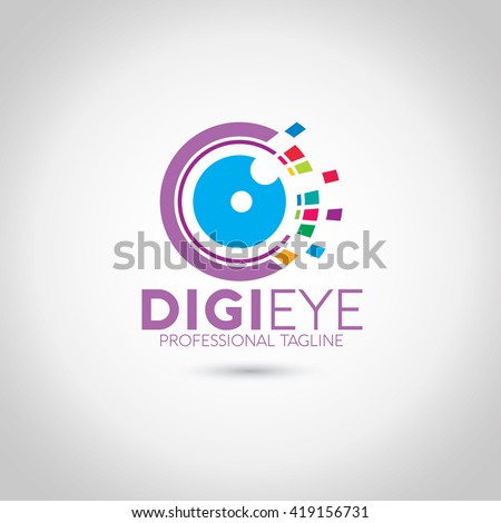 digi eye logo