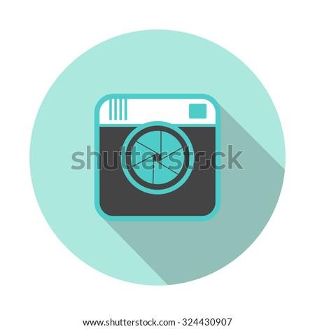 digital camera instagram icon