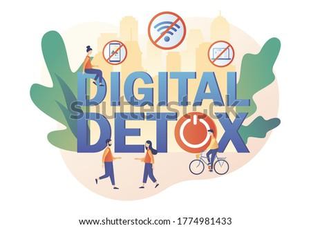 digital detox tiny people