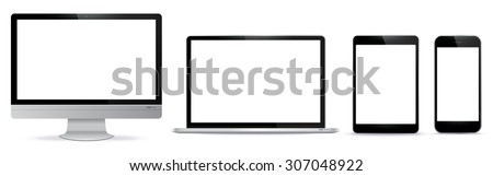 digital devices vector