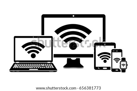digital devices with wifi...