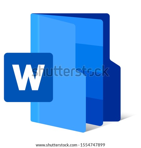 digital format file icon. flat draw creative modification icon with initial name. vector illustration