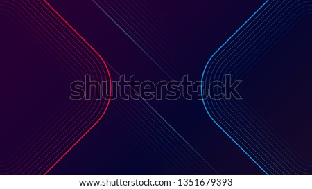 Digital geometric elements abstract vector background
