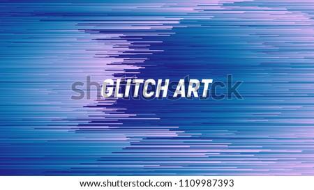 digital glitch art abstract