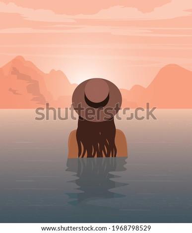digital illustration of a girl