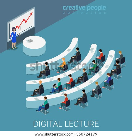 digital lecture web conference