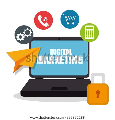digital marketing e-commerce icon