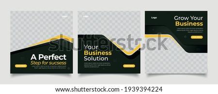 Digital Marketing Social Media Post Template, Digital marketing agency, Square Flyer Template, Editable web Banner Post Template.
