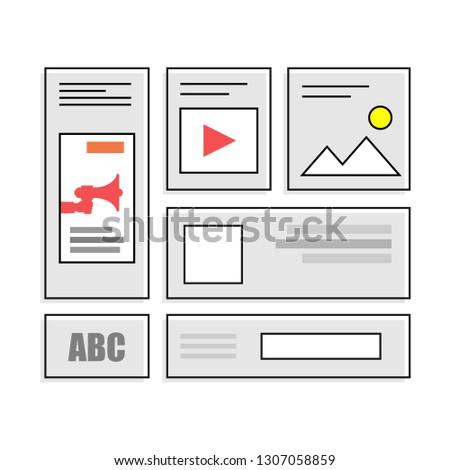Digital Marketing Vector