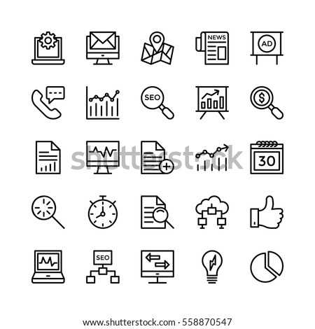 Digital Marketing Vector Icons 5