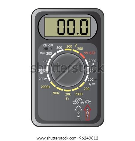 digital multimeter vector