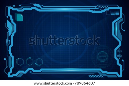 digital pattern technology concept background