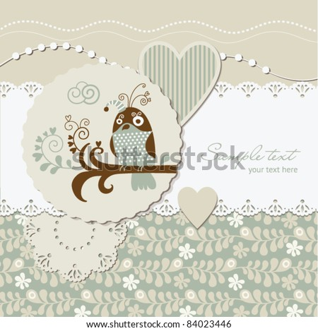 digital scrap-booking, greeting card