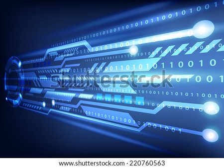 digital technology background