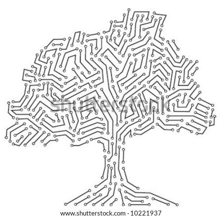 Digital tree concept