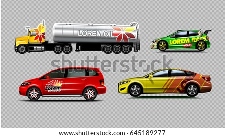 digital vector yellow red and