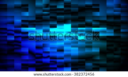 Digitally generated abstract blue matrix background, vector EPS 10