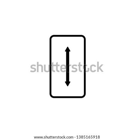 Dimension, Simple hardware Stroke Vector Icon