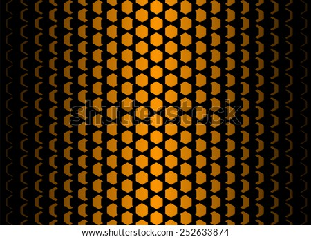 dimensional hexagonal cells