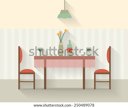 dining table for date with